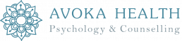 Avoka Health Gold Coast Psychology & Counselling colour logo inline